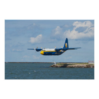Blue Angels Fat Albert low take off Poster