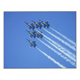 Blue Angels flyby during 2006 Fleet Week 2