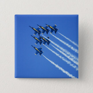 Blue Angels flyby during 2006 Fleet Week 2 15 Cm Square Badge
