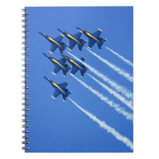 Blue Angels flyby during 2006 Fleet Week 2 Notebook