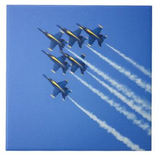 Blue Angels flyby during 2006 Fleet Week 2 Tile
