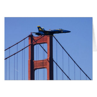 Blue Angels flyby during 2006 Fleet Week 3 Card