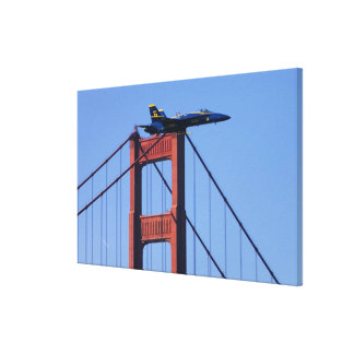 Blue Angels flyby during 2006 Fleet Week 3 Gallery Wrapped Canvas