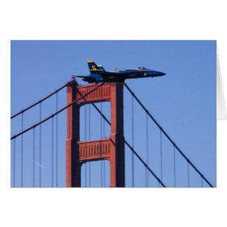 Blue Angels flyby during 2006 Fleet Week 3 Greeting Card