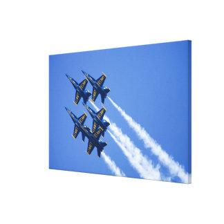Blue Angels flyby during 2006 Fleet Week Canvas Prints