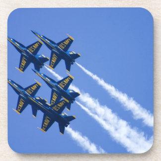 Blue Angels flyby during 2006 Fleet Week Drink Coaster
