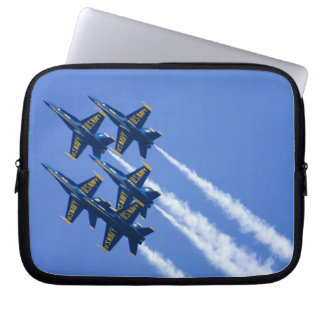 Blue Angels flyby during 2006 Fleet Week Computer Sleeve