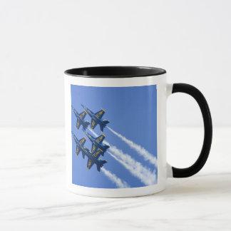 Blue Angels flyby during 2006 Fleet Week Mug
