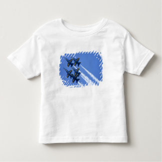Blue Angels flyby during 2006 Fleet Week Toddler T-Shirt
