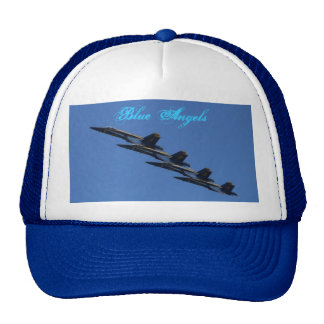Blue Angels In Formation Mesh Hats