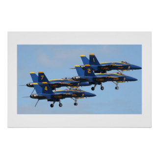 Blue Angels in Formation Print