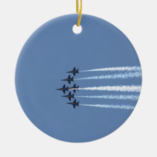 Blue Angels Jets Christmas Ornament