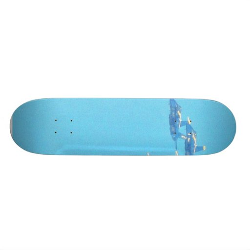 Blue Angels Jets Planes Skateboard Deck