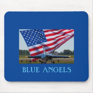 BLUE ANGELS MOUSE MAT