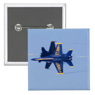 Blue Angels perform knife-edge pass during 2006 15 Cm Square Badge