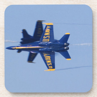 Blue Angels perform knife-edge pass during 2006 Beverage Coasters