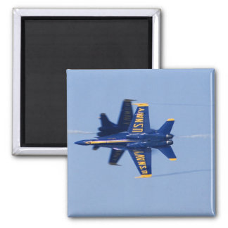 Blue Angels perform knife-edge pass during 2006 Magnet