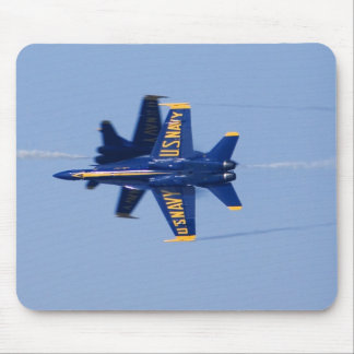 Blue Angels perform knife-edge pass during 2006 Mouse Pad