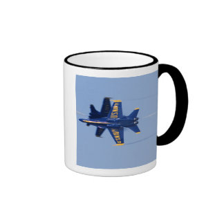 Blue Angels perform knife-edge pass during 2006 Mug