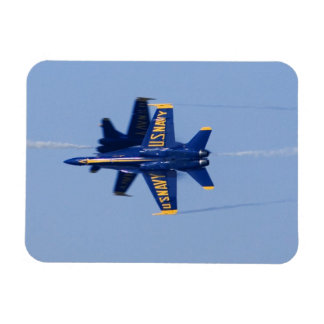 Blue Angels perform knife-edge pass during 2006 Rectangular Photo Magnet