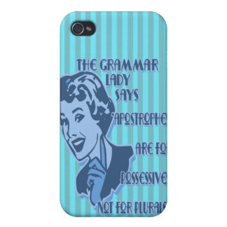 Blue Apostrophes iPhone Speck Case Cases For iPhone 4