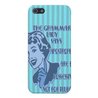 Blue Apostrophes iPhone Speck Case iPhone 5 Cover