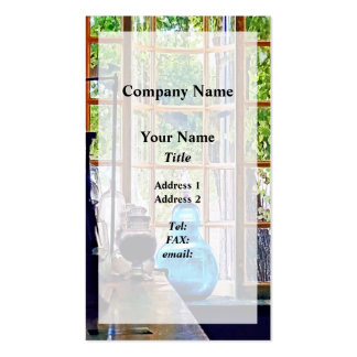 Blue Apothecary Bottle Double-Sided Standard Business Cards (Pack Of 100)