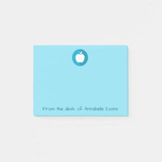 Blue Apple Post-it Notes