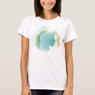 Blue aqua bella lady T-shirt