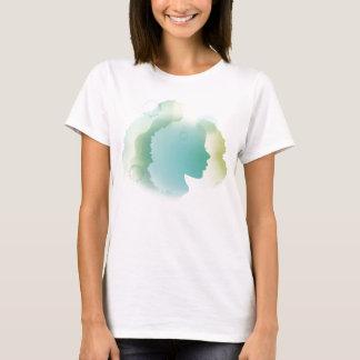 Blue aqua bella lady top