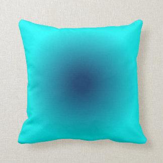 Blue Aqua Gradient Cushion