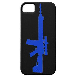 Blue AR-15 iPhone 5 Universal Case