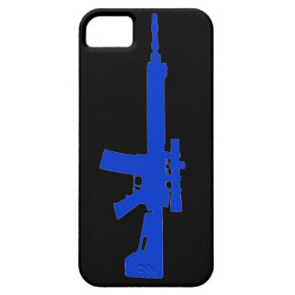 Blue AR-15 iPhone 5 Universal Case iPhone 5 Covers
