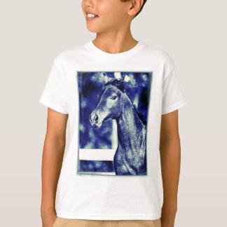Blue Arabian Digital Art T-Shirt