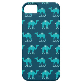 Blue arabic india camel pattern iPhone 5 covers