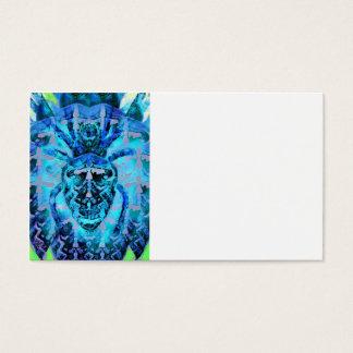 Blue Arachnids Business Card