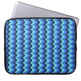 Blue arches laptop sleeve