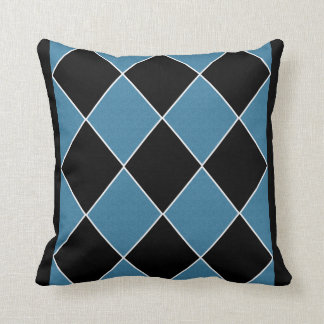 Blue Argyle Cushion