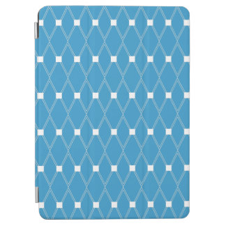 Blue Argyle Lattice iPad Air Cover