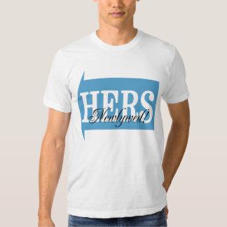 Blue Arrow Newlywed Shirt