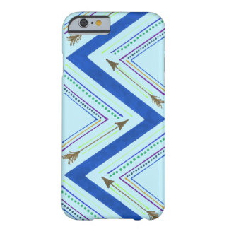 Blue Arrow Zigzag Case