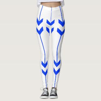 Blue Arrows Leggings