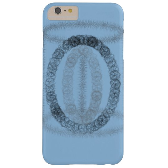 Blue artsy phonecase barely there iPhone 6 plus