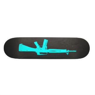 Blue Assault Rifle Skateboard