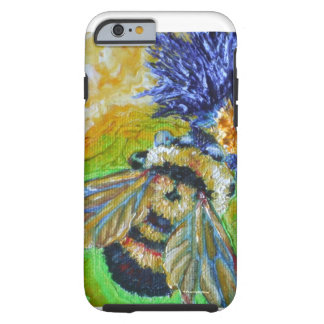 Blue Aster & Bumble Bee iPhone 6 case Tough iPhone 6 Case