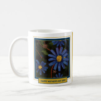 Blue Aster, Mother's Day Mug, Thanks for Being You Coffee Mug