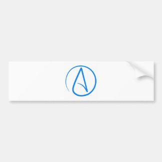 Blue Atheist A Bumper Sticker