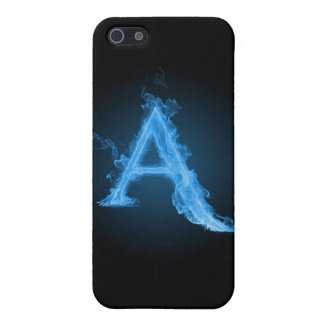 Blue atheist A iPhone 5 Case