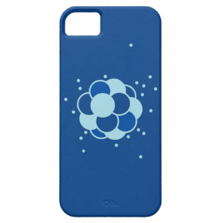 Blue Atom Chemistry iPhone Case Case For The iPhone 5