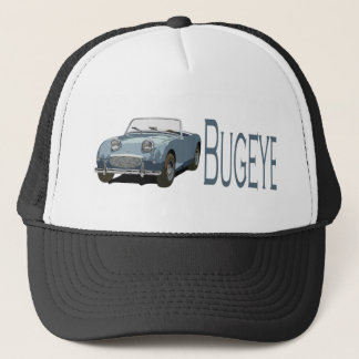 Blue Austin Healey Sprite Trucker Hat